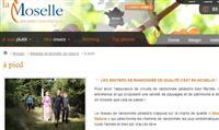 MOSELLE : Les sentiers de randonnée en ligne